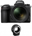 Nikon Z7 II + 24-70mm f/4 S + Mount Adapter FTZ