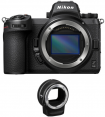 Nikon Z6 II Body + Mount Adapter FTZ