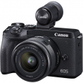 Canon EOS M6 Mark II + 15-45mm + EVF