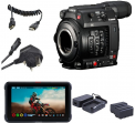 Canon EOS C200 Atomos Ninja V Power Kit