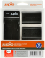 Jupio rink. USB Single pakr. + 2x Li-ion akum. LP-E6 (1700 mAh)