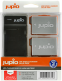 Jupio rink. USB Single pakr. + 2x Li-ion akum. LP-E8 (1120 mAh)