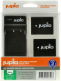 Jupio Kit: 2x Battery NP-W126 + USB Single Charger