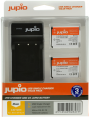 Jupio Kit: 2x Battery EN-EL19 + USB Single Charger