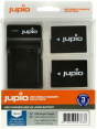 Jupio Kit: 2x Battery DMW-BLC12E + USB Single Charger