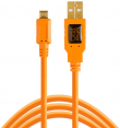 Tether Tools kabelis TetherPro USB 2.0 A Male to Micro-B 15 (4.6m) - Orange