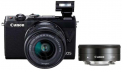 Canon EOS M100 + EF-M 15-45mm f/3.5-6.3 IS STM / EF-M 22mm f/2 STM