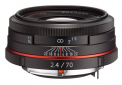 Pentax HD 70mm f/2.4 Limited (Juodas)