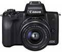 Canon EOS M50 + EF-M 15-45mm f/3.5-6.3 IS STM + EF-M 22mm f/2 STM