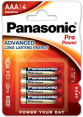 Panasonic LR03/4BP Pro Power