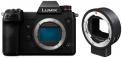 Panasonic Lumix DC-S1 Body + Sigma MC-21