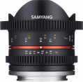 Samyang obj. VDSLR 8mm T3.1 UMC II Fish-eye (Sony E)