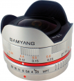 Samyang obj. 7.5mm f/3.5 UMC Fish-eye (MFT)