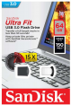 Sandisk USB Raktas 64GB Ultra Fit USB 3.0