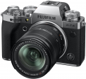 Fujifilm X-T4 body 18-55mm Kit (Sidabrinis)