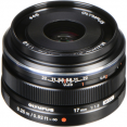 Olympus M.Zuiko Digital 17mm f/1.8 Lens (Black/Silver)