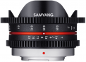 Samyang obj. VDSLR 7.5mm T3.8 Cine UMC Fish-eye (MFT)