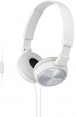 Sony ausinės MDR-ZX310AP (White) for Smartphones