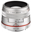 Pentax HD 35mm f/2.8 Limited Silver