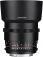 Samyang obj. VDSLR 85mm T1.5 AS IF UMC II (Canon EF-M, Four-thirds, Fujifilm X, MFT, Sony E)