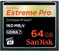 SanDisk CF 64GB Extreme Pro 160MB/s