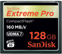 SanDisk CF 128GB Extreme Pro 160MB/s