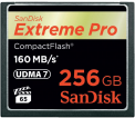 SanDisk CF 256GB Extreme Pro 160MB/s