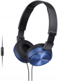 Sony MDR-ZX310AP (Blue) for Smartphones
