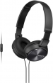 Sony ausinės MDR-ZX310AP (Black) for Smartphones