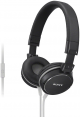 Sony MDR-ZX610AP (Black) for Smartphones