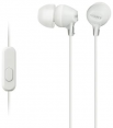 Sony ausinės MDR-EX15AP (White) for Smartphones