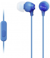 Sony MDR-EX15AP (Blue) for Smartphones