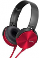 Sony ausinės MDR-ZX310AP (Red) for Smartphones