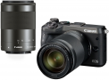 Canon EOS M6 + EF-M-15-45mm-IS-STM+EF-M 55-200mm f/4.5-6.3 IS STM