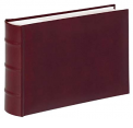 WALTHER alb. ME-373R, Classic, 15x20, 100n., wine red