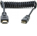 Atomos kabelis Mini HDMI to Full HDMI Cable, Coiled 30cm
