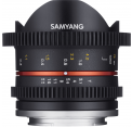 Samyang obj. VDSLR 8mm T3.1 UMC II Fish-eye (Canon EF-M, Four-thirds, Fujifilm X, MFT, Sony E)