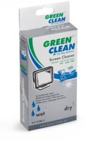 Green Clean Office Cleaner Desinfect Wet & Dry 100 vnt
