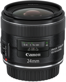Canon obj. EF 24mm f/2.8 IS USM