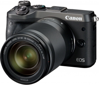 Canon EOS M6 + EF-M 18-150-mm S-IS-STM