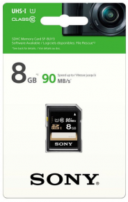 Sony SDHC 8GB Perfomance 90MB/s