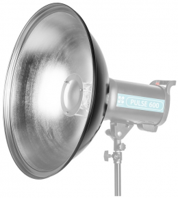 Quadralite Beauty Dish Silver 70 Reflector (Bowens mount)