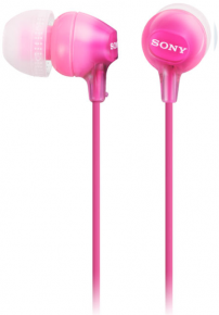Sony ausinės MDR-EX15AP (Pink) for Smartphones