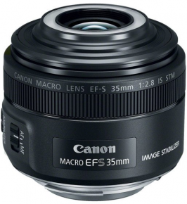 Canon obj. EF-S 35mm f/2.8 IS STM Macro