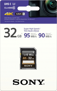 Sony SDHC 32GB Professional 95MB/s