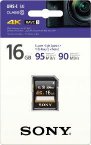 Sony SDHC 16GB Professional 95MB/s
