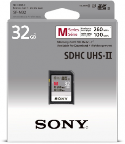 Sony SDHC 32GB Professional 260MB/s