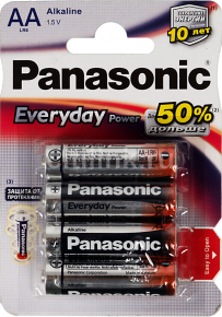 Panasonic AAA LR6/4BP Everyday