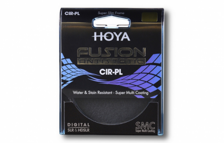 Hoya filtras Fusion Antistatic Cir-Pol 55mm