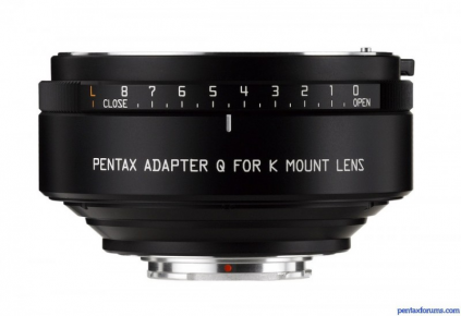 Q Adapter for Pentax K-mount Lenses